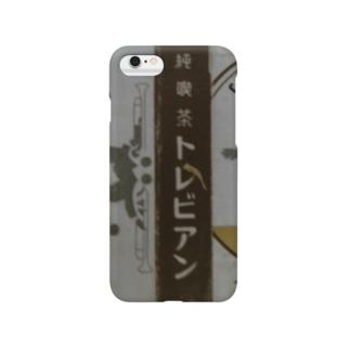 レトロTOKIO 純喫茶トレビアン Smartphone cases