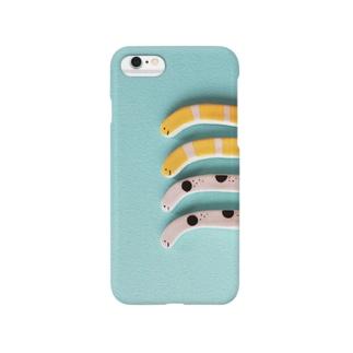 チンアナゴ(陶器) Smartphone cases