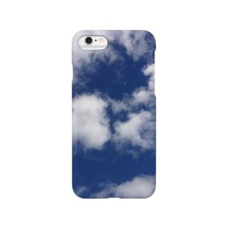 そら柄 Smartphone cases