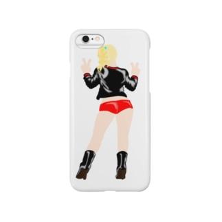ポニーテール Girl! Smartphone cases