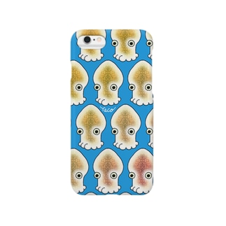 いか Smartphone cases