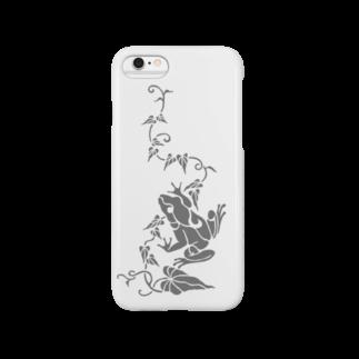 ツバメ堂の蔦とかえる Smartphone cases