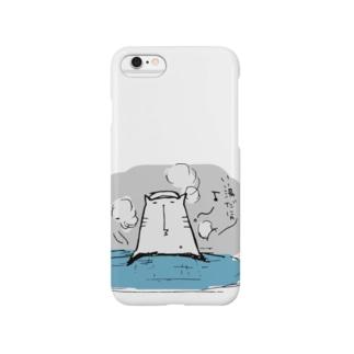 温泉猫 Smartphone cases
