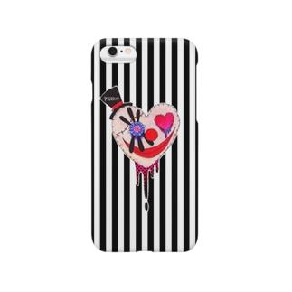 心ピエロちゃん(STRIPE) Smartphone cases