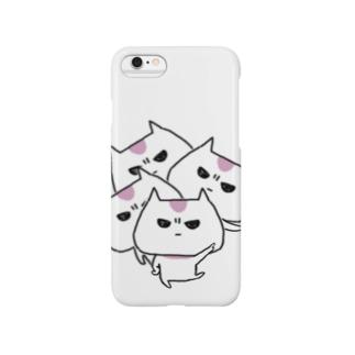 怒ってニャい猫 Smartphone cases