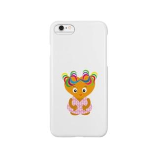 可愛い女の子のグッズ Smartphone cases