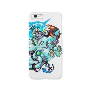 戦艦女子02 Smartphone cases