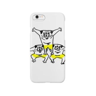 hanakaのぱぐぱぐ組体操(プログラムNo.2サボテン改) Smartphone cases