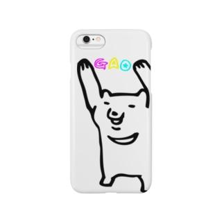 ツキノワグマ2 Smartphone cases
