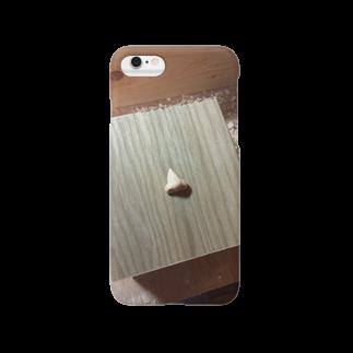 幸せな人の木彫りの鼻 Smartphone cases