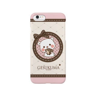 jellyfish西川@毒舌あざらし公式のゲスくま☆スマホケースiphone6 Smartphone cases