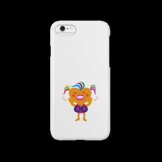 ジルトチッチのデザインボックスの可愛い女のコビザコちゃんのバイバイグッズ Smartphone cases