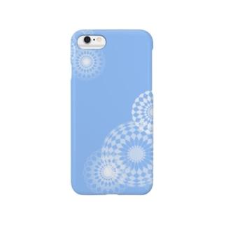 blue swirls  Smartphone cases