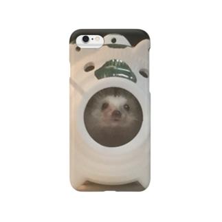 ハリネズミ ~夏のおうち~ Smartphone cases