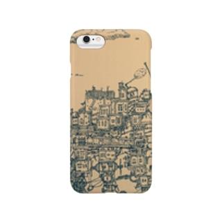 610-Mの細密画 Smartphone cases