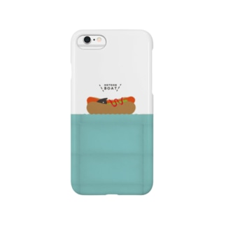 HOTDOG BOAT Smartphone cases
