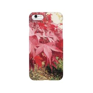 モミジiPhoneケース Smartphone cases