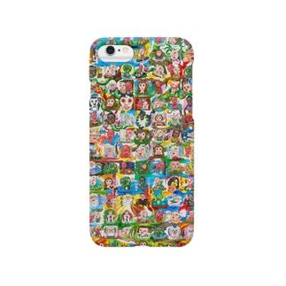 松山征シローLINEスタンプ Smartphone cases