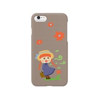 童話ケース(赤毛のアン) Smartphone cases