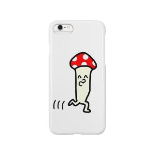 あるくきのこおてもと Smartphone cases