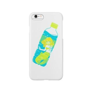 人魚の天然水 Smartphone cases