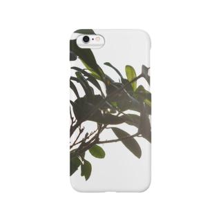 光と緑 Smartphone cases