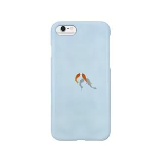 金魚のカップル Smartphone cases