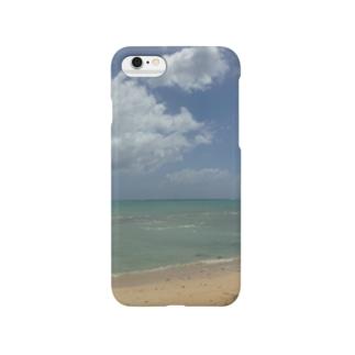 南国ビーチ Smartphone cases