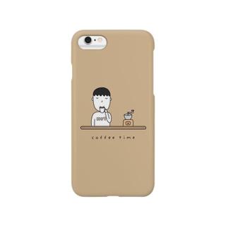 コーヒー男子 Smartphone cases