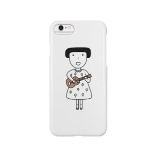 ウクレレ女子 Smartphone cases