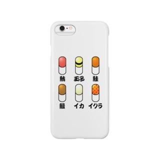 寿司カプセル Smartphone cases