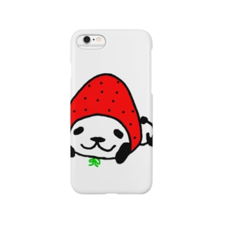イチゴなパンダ。 Smartphone cases