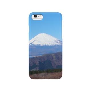 まうんとふじ。 Smartphone cases
