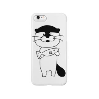 カワウソさん Smartphone cases