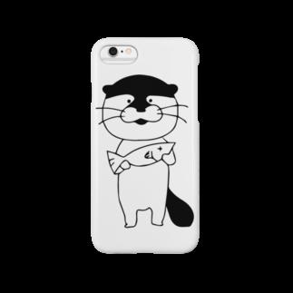 komonoのカワウソさん Smartphone cases