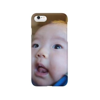 うちゅうじん Smartphone cases