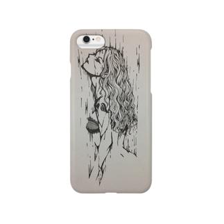 雨と女 Smartphone cases