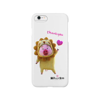 zentoyの「獅子として生きる」ベンジャミン thank you Smartphone cases