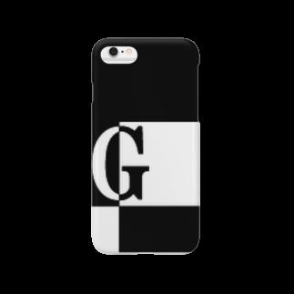 シンプルデザインアルファベットG スマートフォンケース