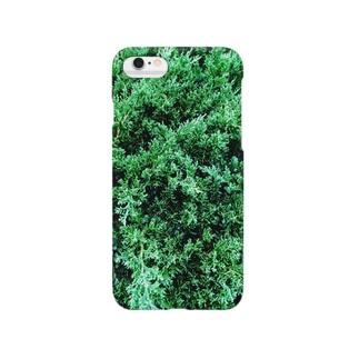 針葉樹風 1 Smartphone cases