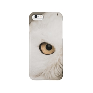 eye - owl - スマートフォンケース