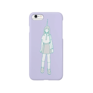 unicorn girl Smartphone cases