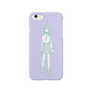 isshokutaのunicorn girl Smartphone cases