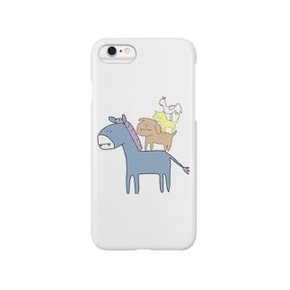 音楽隊 Smartphone cases