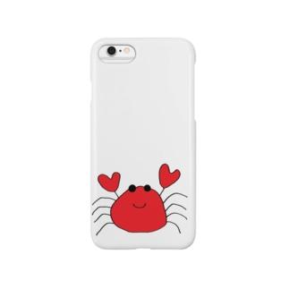 カニまる Smartphone cases