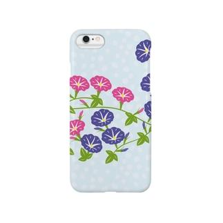 朝顔の花 Smartphone cases