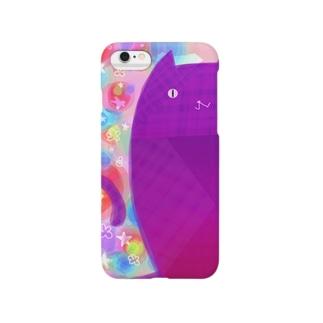 覗き見ネコ Smartphone cases