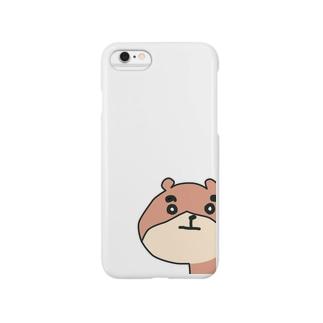 ◼︎くまろん◼︎いつでもあなたをジロりんちょ Smartphone cases