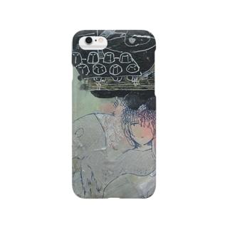 女の子とバク Smartphone cases