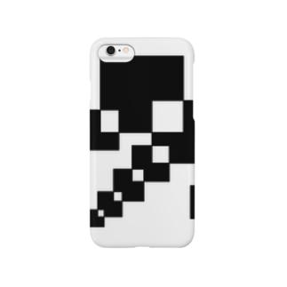 シンプルデザインペアハートの欠片 Smartphone cases